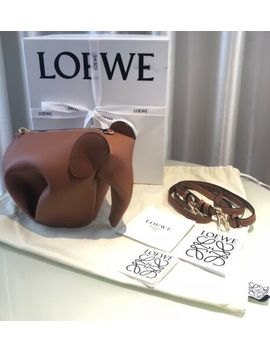 Authentic Loewe Elephant Bag Brown Colour by Ebay Seller