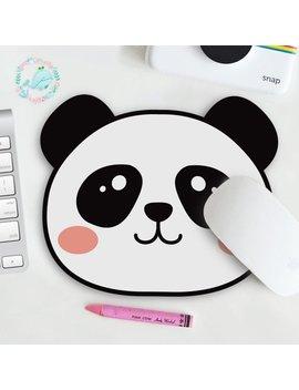 Panda Mousepad by Etsy