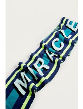Iets Frans... Neon Slogan Scarf by Iets Frans...