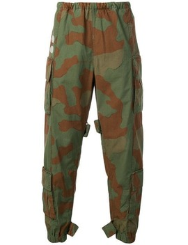 Camouflage Cargo Trousers by Off White