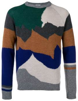 Cashmere Mixed Knit Jumper by Lanvin