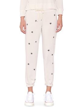Stars Terry Jogger Pants by Sundry
