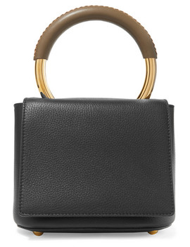 Pannier Textured Leather Tote by Marni