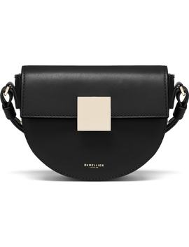 Mini Oslo Leather Shoulder Bag by Demellier