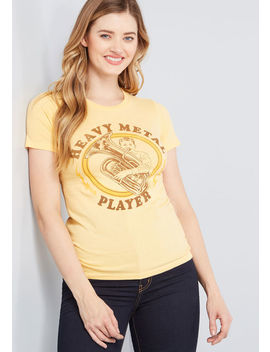 Heavy Metal Player Graphic Tee by Modcloth