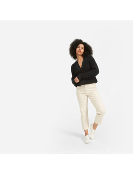 The Texture Cotton Cardigan by Everlane