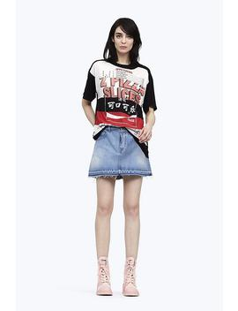 Denim Mini Skirt by Marc Jacobs