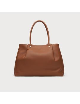 Regan Tan Grainy Leather Tote by L.K.Bennett