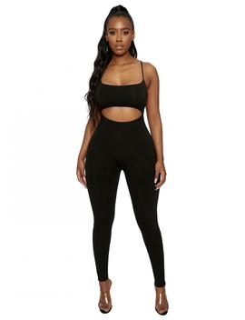 Hole'd U Down Jumpsuit by Naked Wardrobe
