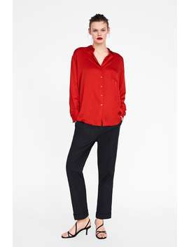 satin--finish-blouse-with-pocketview-all-shirts by zara