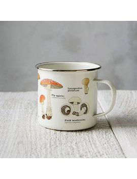 Enamel Mushroom Mug by Terrain