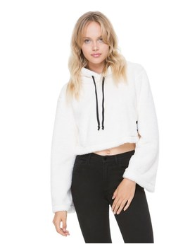 Sherpa Hooded Pullover by Juicy Couture