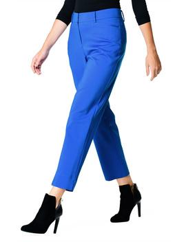 Vibrant Cotton Blend Ankle Length Pants by Eshakti