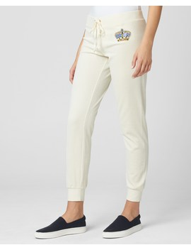 Luxe Crown Velour Zuma Pant by Juicy Couture