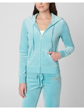 Floral Juicy Velour Robertson Jacket by Juicy Couture