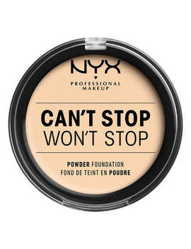 Can't Stop Won't Stop Powder Foundation by Nyx Cosmetics