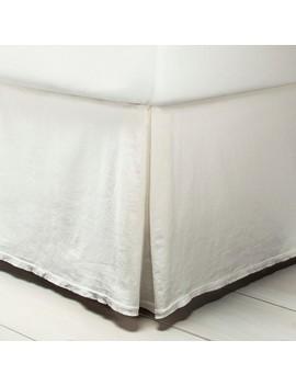 bedskirt-linen-blend---sour-cream---hearth-&-hand-with-magnolia by hearth-&-hand-with-magnolia