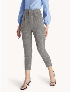 Cropped Light Weight Pants   Grey by Pomelo