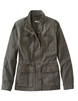 Ripstop Field Jacket by L.L.Bean