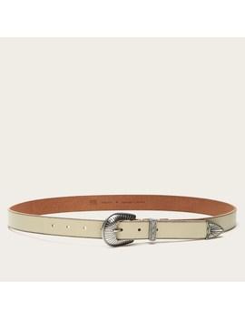 Ellen Buckle Belt by Frye