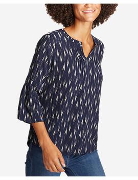 Women's Sunrise Bell Sleeve Top by Eddie Bauer