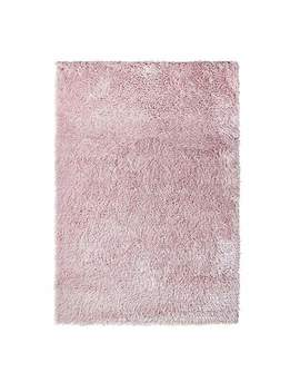 riviera-sparkle-blush-rug by dunelm