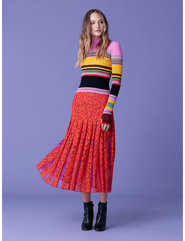 Dara Striped Pullover by Dvf