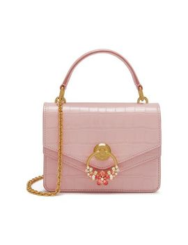 Small Harlow Satchel With Scarf by Mulberry