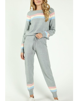 Rainbow Stripe Ski Sweater by Y&I Clothing Boutique   Dallas, Texas