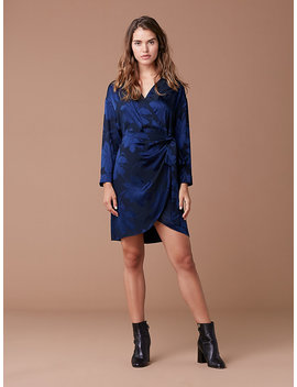 3/4 Sleeve Mini Wrap Dress by Dvf