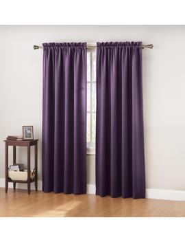 Colormate Jillian Room Darkening Window Curtain Panel Colormate Jillian Room Darkening Window Curtain Panel by Colormate