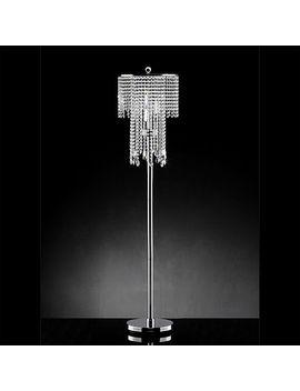 Warehouse Of Tiffany Diana Crystal Floor Lamp Warehouse Of Tiffany Diana Crystal Floor Lamp by Warehouse Of Tiffany