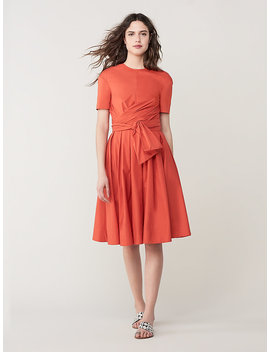 Gemma Cotton Midi Dress by Dvf