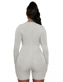 The Nw All Body Short Jumpsuit by Naked Wardrobe