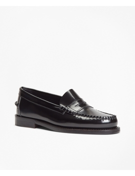 Leather Penny Loafers by Brooks Brothers