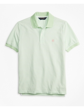 Slim Fit Vintage Stripe Polo Shirt by Brooks Brothers
