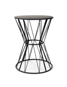 black-metal-end-table----grafik by maisons-du-monde