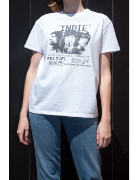 Marina Indie Band Top by Brandy Melville