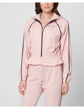 Jxjc Interlock Cinched Waist Track Jacket by Juicy Couture