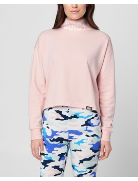 Jxjc French Terry Turtleneck Pullover by Juicy Couture
