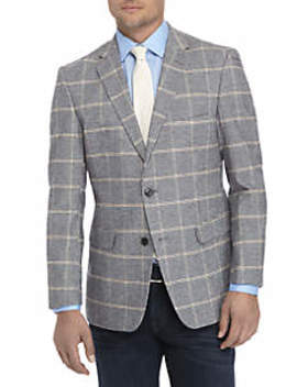 Houndstooth Stretch Sport Coat by Crown & Ivy™