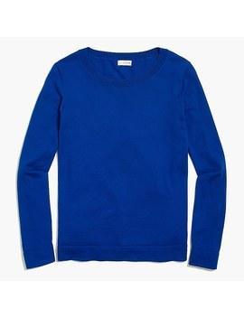 Cotton Teddie Sweater by J.Crew