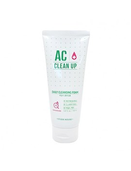 [Etude House]  Ac Clean Up Daily Cleansing Foam (150ml) by Style Korean
