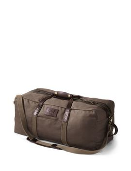 Waxed Canvas Duffle Bag by Lands' End