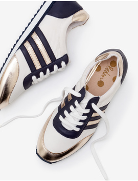 Striped Sneakers by Boden