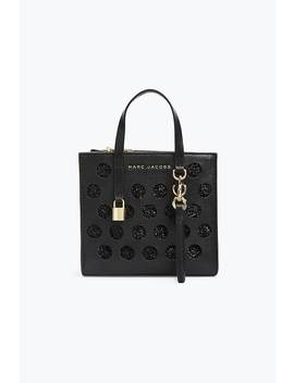 The Perforated Grind Mini Tote by Marc Jacobs