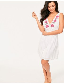 Salma Embroidered Dress by Figleaves