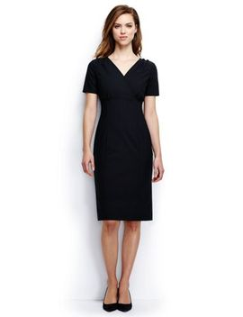 Women's Empire Shift Dress by Lands' End