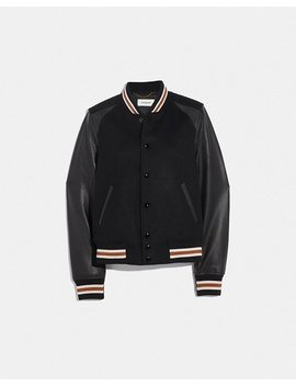 Blank Varsity Jacket by Coach