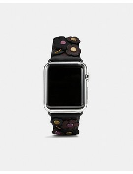 Apple Watch® Strap With Tea Rose by Coach